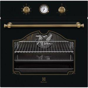 Electrolux EOA 5220 AOR fekete színű rusztikus beépíthető sütő AJÁNDÉKKAL* (EOA5220AOR)
