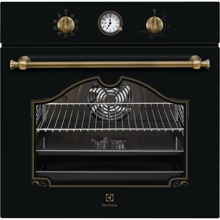 Electrolux EOA 5220 AOR fekete színű rusztikus beépíthető sütő (EOA5220AOR)