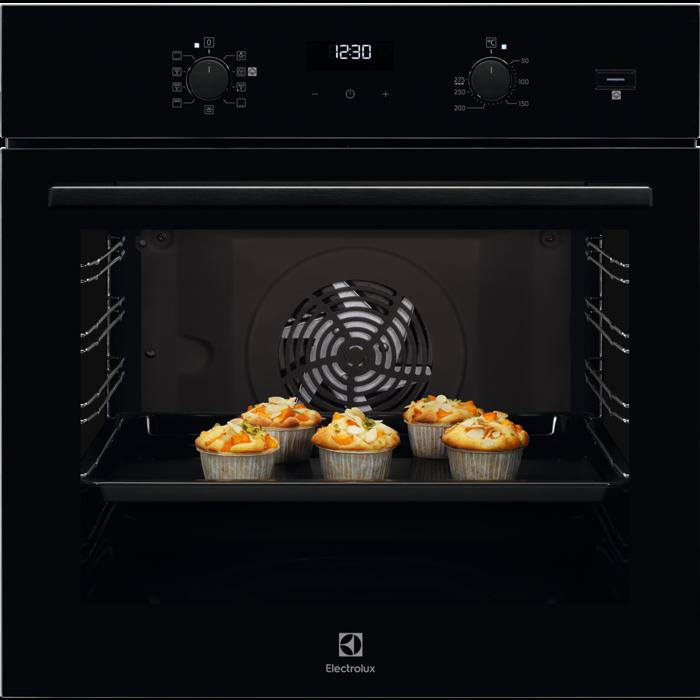 Electrolux EOD5C 50 Z beépíthető, fekete színű SteamBake katalitikus sütő (EOD5C50Z)