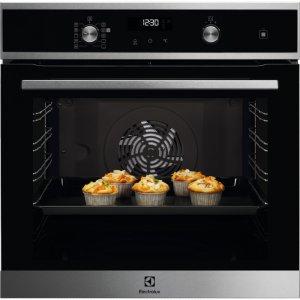 Electrolux EOD6C 71 X fekete színű pirolitikus sütő SteamBake funkcióval AJÁNDÉKKAL* (EOD6C71X)