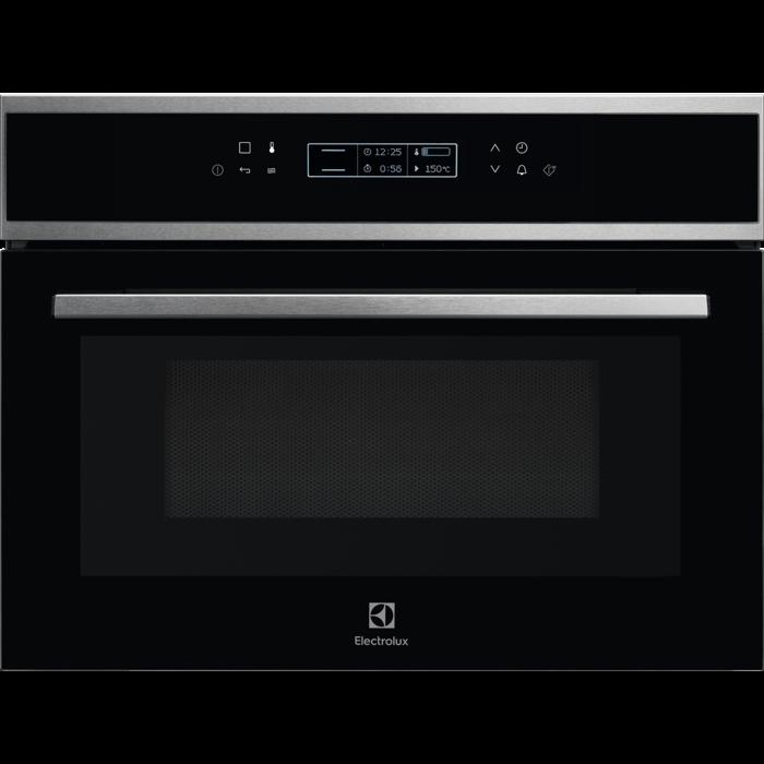 Electrolux EVK8E 00 X beépíthető kompakt mikro és sütő egyben AJÁNDÉKKAL* (EVK8E00X)