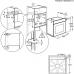 Electrolux KOCBP 31 X SteamCrisp beépíthető gőzsütő, pirolitikus tisztítás, LCD kijelző, maghőmérő AJÁNDÉKKAL* (KOCBP31X)