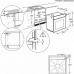 Electrolux KODEH 70 X könnyen tisztítható zománc sütő PLUS-STEAM funkcióval AJÁNDÉKKAL* (KODEH70X)