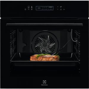Electrolux KOE8P 81 Z SenseCook beépíthető sütő, pirolitikus tisztítás, LCD kijelző, Assisted Cooking, maghőmérő (KOE8P81Z)