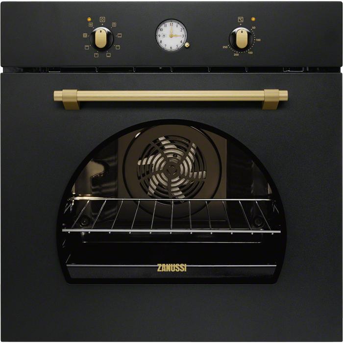 Zanussi ZOB 33701 CR beépíthető fekete színű rusztikus sütő (ZOB33701CR)