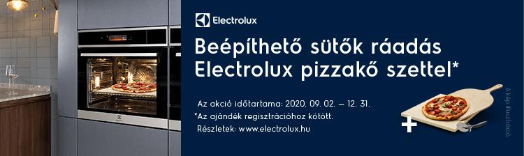 Electrolux beépíthető sütő akció